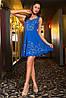 Короткое платье с перфорацией, фото 4