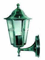 Светильник уличный Lemanso PL6101 античная медь (зеленого цвета) 60W