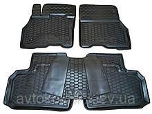 Поліуретанові килимки в салон Nissan Leaf 2010- (AVTO-GUMM)