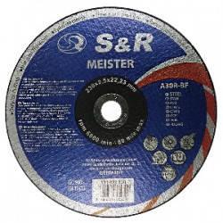 Диск отрезной по металлу S&R Meister A 30 R BF 230 мм, фото 2