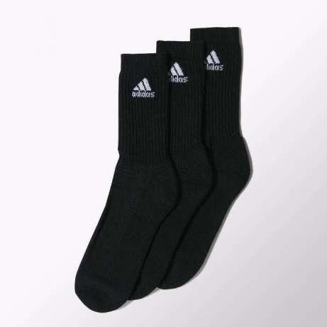 Носки Adidas AdiCrew, 3 пары в комплекте, Артикул Z25522