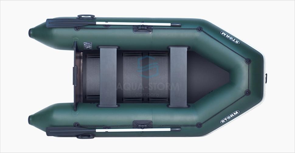 Моторная надувная пвх лодка STORM STM 280-40