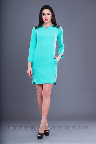 Летнее платье женское цвет