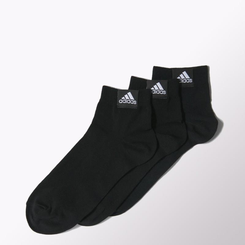 Носки Adidas Ankle Plain Thin 3 пары, размер 35-38, Артикул Z25923