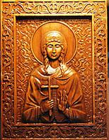 Икона резная Святой Варвары