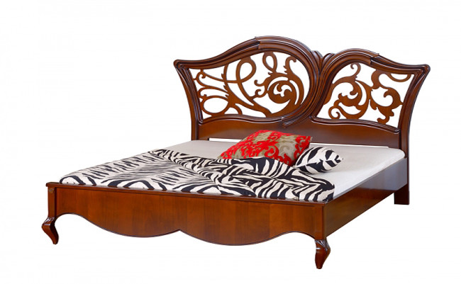 KP215 Кровать 1800 с резьбой