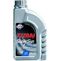 Моторное масло FUCHS TITAN SUPERSYN F ECO-B 5W-20 1L для автомобиля синтетика
