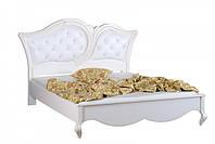 KP210 Кровать 1600 кожзам с пуговицами, фото 1