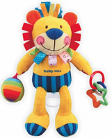 Музыкальная игрушка Baby Mix TE-8245-29 Плюшевый Лев