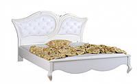 KP214 Ліжко 1800 кожзам з гудзиками, фото 1