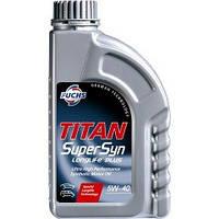 Моторное масло FUCHS TITAN SUPERSYN LL 5W-40 1L для автомобиля синтетика
