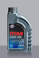 Моторное масло FUCHS TITAN SYN MC 10W-40 1L для автомобиля полусинтетика