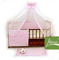 Комплект в детскую кроватку, Радуга 10 элементов ранфорс (2050013)
