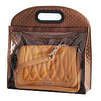 Чехол для сумки 33х10х35 см. коричневый