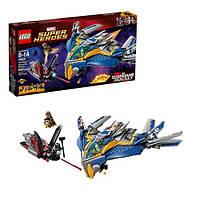 Пластиковый конструктор LEGO Super Heroes Спасение космического корабля Милано (76021)