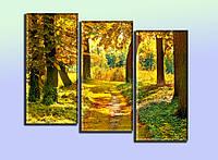 """Панно """"Осенний лес"""". Печать фото на холсте., фото 1"""