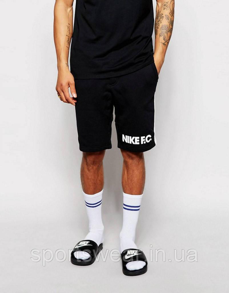 """Шорты Nike ( Найк ) чёрные мужские трикотажные """""""" В стиле Nike """""""""""