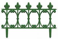 Декоративный забор Корсика (260 cм) зеленый