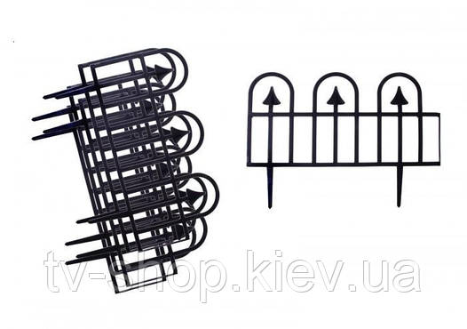 Декоративный забор Суматра (190 cм) черный
