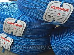 Мотузка marmara д 3мм 100 метрів поліпропіленова кручена