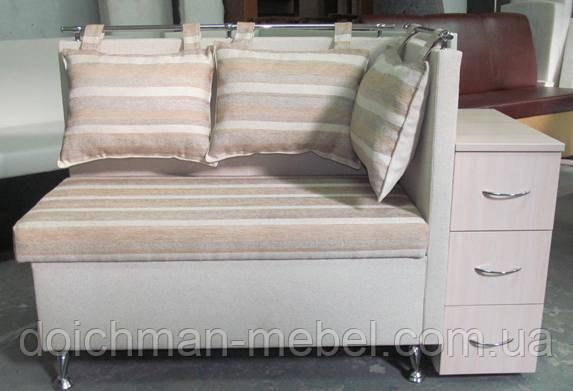 купить эксклюзивный диван лавочка для прихожей с тумбочкой и нишей