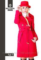 Модное женское пальто средней длины Тур-7 демисезонное, фото 1