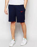 Шорты Nike ( Найк ) синие красный знчёк