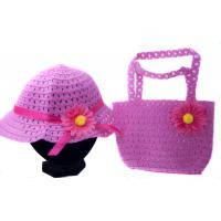 Детская пляжная сумка и шляпка