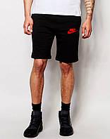 Шорты Nike трикотажные красная галочка+лого