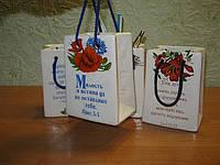 Сувенир пакет (подставка для карандашей)