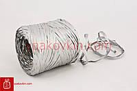 Рафия PLASTIFLORA 200м - Серебрянная
