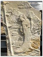 """""""Японка"""", картина на камне, фото 1"""