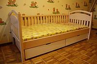 Кровать детская подростковая Арина, массив дуб, ясень
