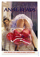 Анальные шарики CLEAR ANAL BEADS LARGE