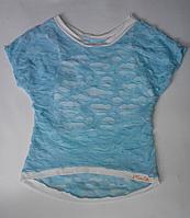 Детская футболка двойка для девочек от 7 до 9 лет, фото 1
