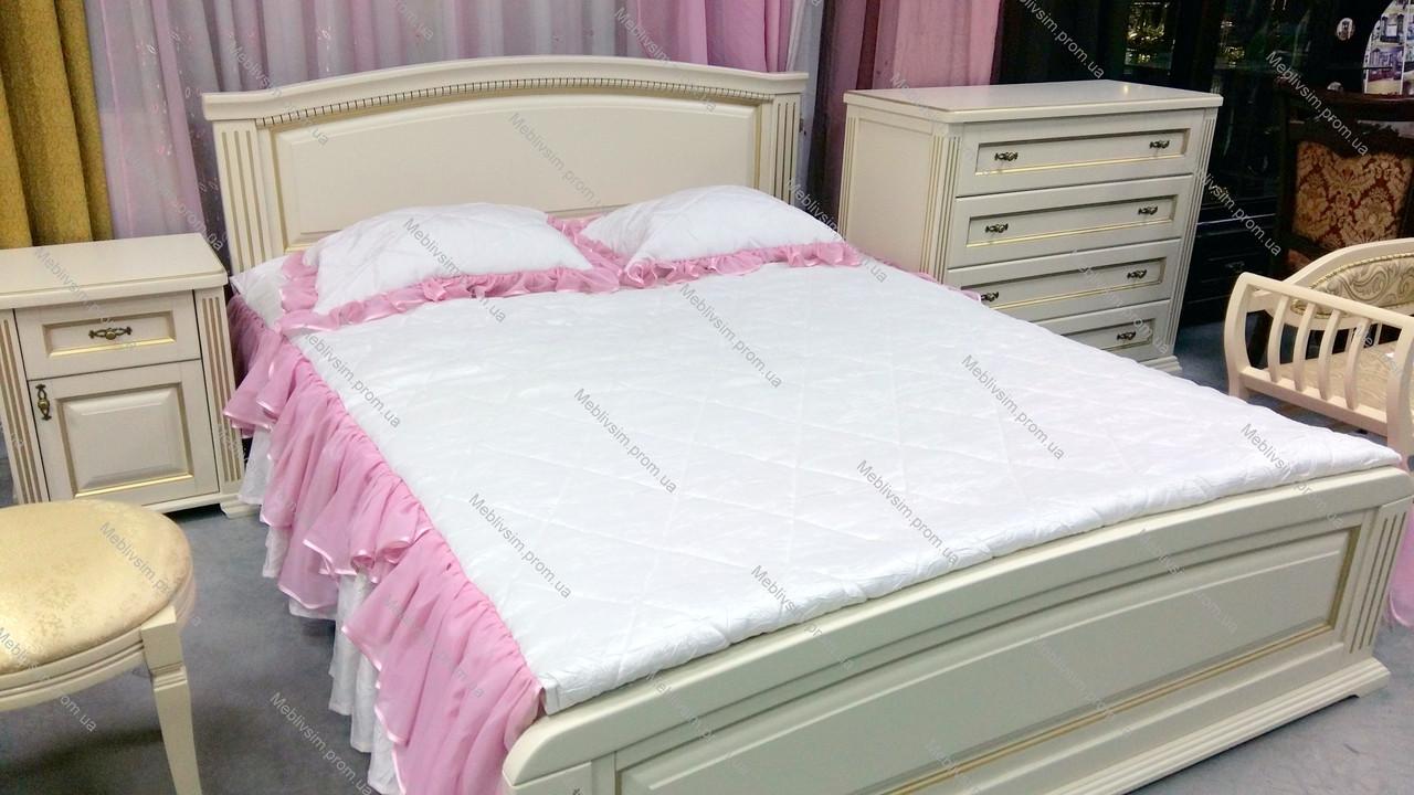 Спальня деревянная Калипсо , цвет на выбор