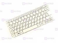 Оригинальная клавиатура для ноутбука Acer Aspire 1825PT, Aspire 1825PTZ, Aspire One 715 series, white, ru