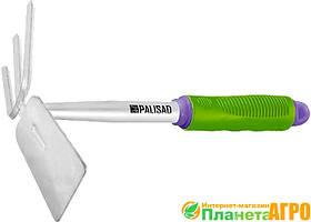 Мотыжка комбинированная трапеция и 3-зубая 65х290, Palisad
