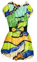 Платье гипюровое для девочки 152р.
