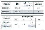 Дренажный насос Насосы+ DSP-550PA, фото 5