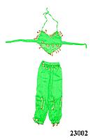 Купить костюм для восточных танцев детский салатовый