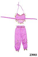 Купить костюм для восточных танцев детский сиреневый