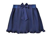 """Школьная юбка """"Резинка""""  синяя"""