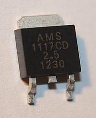 AMS1117CD-2,5; (TO252)
