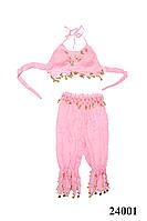 Костюм для восточных танцев взрослый розовый