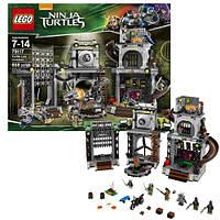 Конструктор LEGO Ninja Turtles Нападение на логово черепашек (79117)