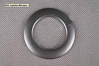 Люверсы для штор, гардин №5 - серебро матовое (55/35)