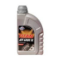 Трансмиссионное масло для АКПП FUCHS TITAN ATF 6000 SL 1L синтетика для BMW , GM , Opel