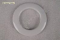Люверсы для штор, гардин №9 - белый глянец (55/35)