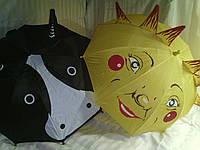 Маленький детский зонт с ушками